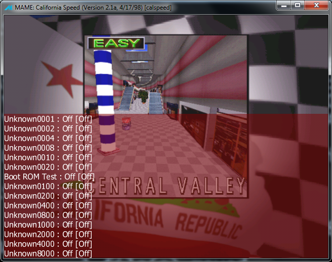 M A M E  - California Speed - Central Valley [Fastest Race