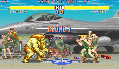 M A M E  - Street Fighter II: The World Warrior [World 910522