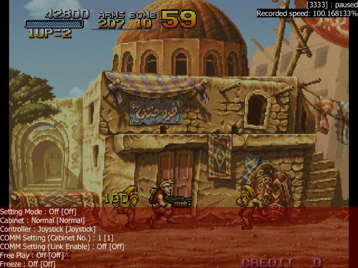 M A M E  - Metal Slug 2 - Super Vehicle-001/II - Points