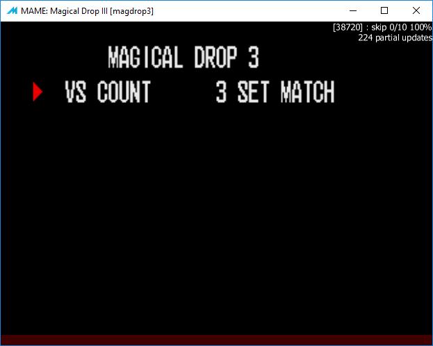 M A M E  - Magical Drop III - Points [Magical Journey Mode