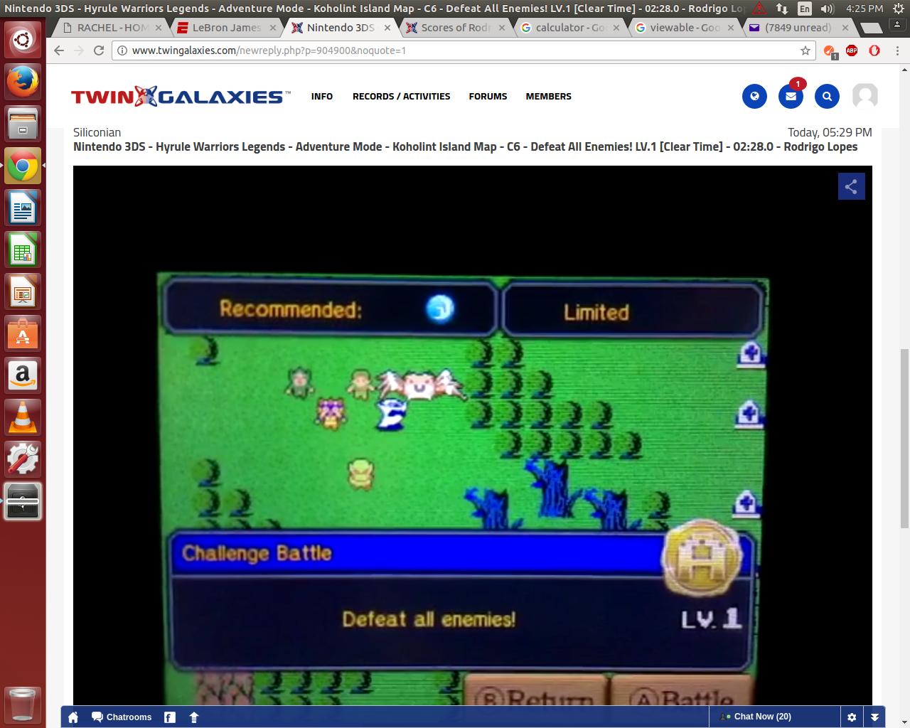 Nintendo 3DS - Hyrule Warriors Legends - Adventure Mode - Koholint