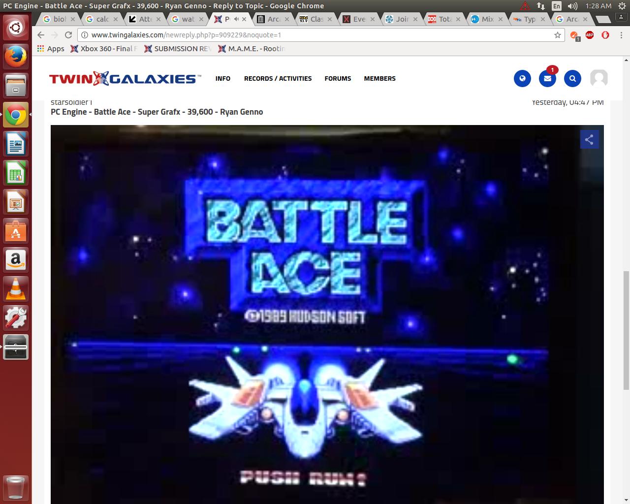 PC Engine - Battle Ace - Super Grafx - 39,600 - Ryan Genno