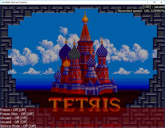 M A M E  - Tetris [Set 1] - Points - 117,795 - Max Haraske