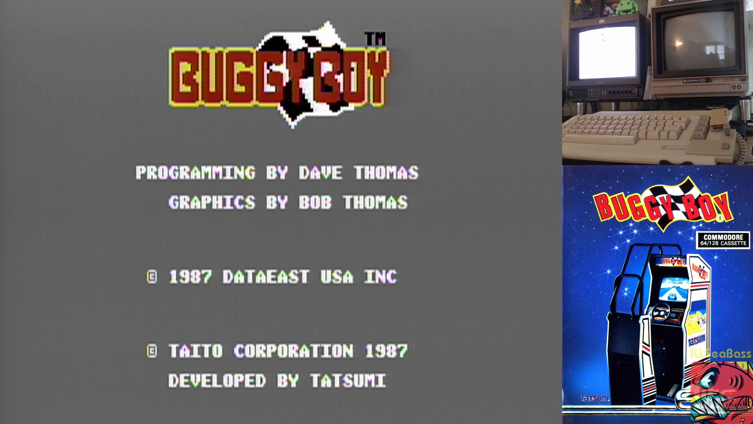 Commodore 64 - Buggy Boy - NTSC - North - 93,390 - Matt Sales