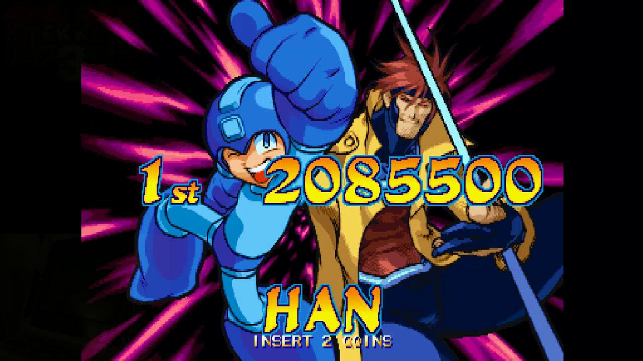 M A M E  - Marvel VS  Capcom: Clash Of Super Heroes [US