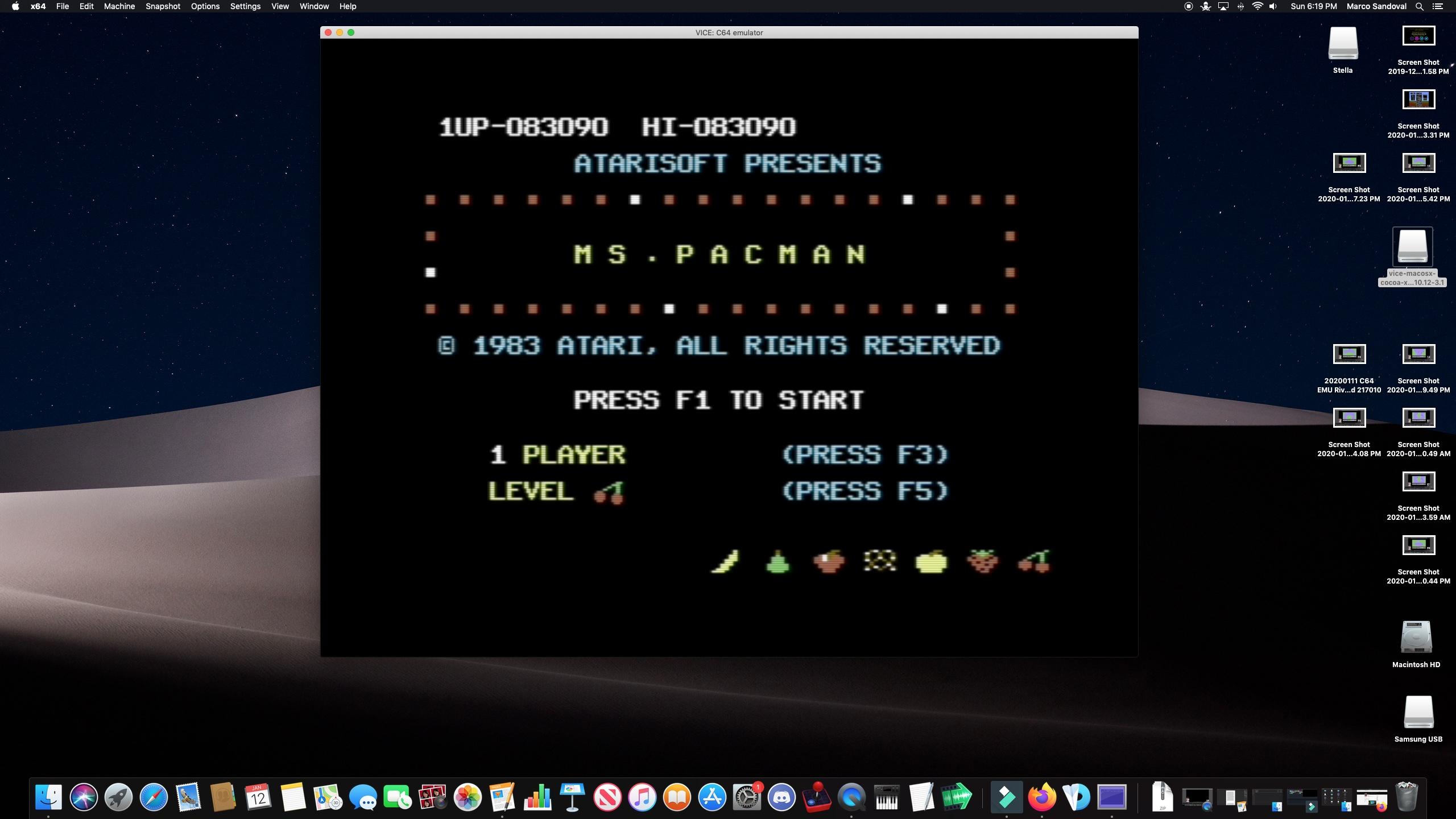 Name:  20200112 C64 EMU Ms. Pac-Man 83090.jpg Views: 48 Size:  616.7 KB