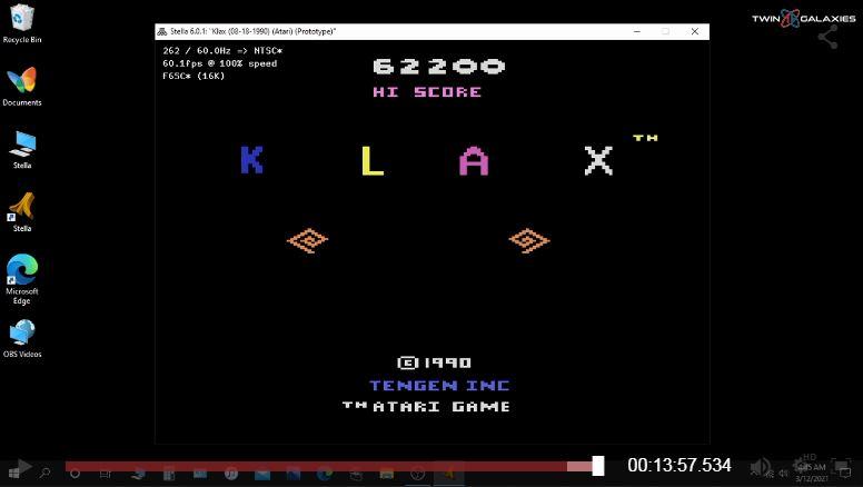 Name:  Klax High Score.jpg Views: 26 Size:  33.2 KB
