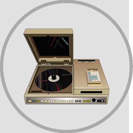 Laserdisc-Daphne